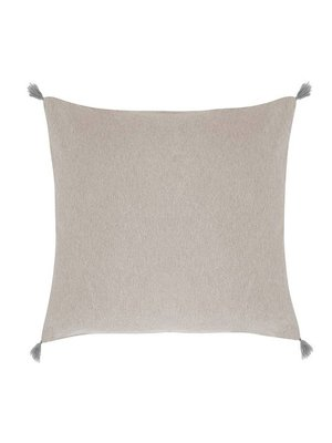 House in Style Housse de coussin Cordoba Taupe | 50 x 50 cm