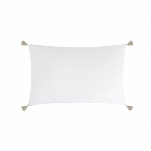 House in Style Kussenhoes Cordoba White | 40x60 cm