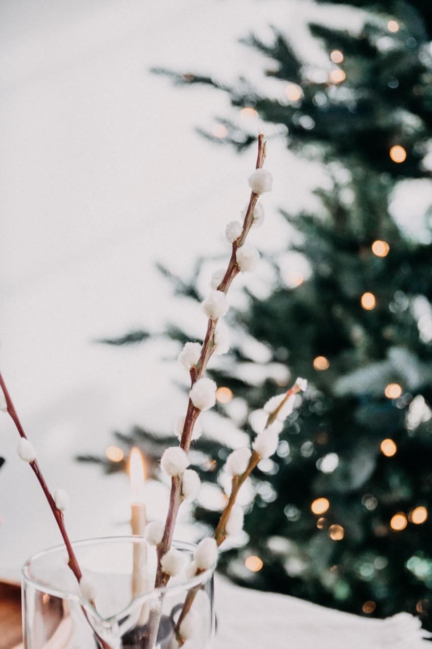 Tafeldekken kerst decoratie inspiratie 2018