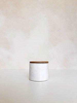 Bocal de rangement Marble Small | 9 x Ø 10 cm