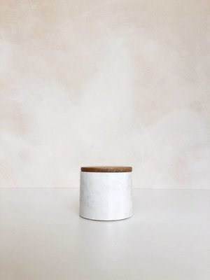 Storage jar Marble Small | 9 x Ø 10 cm