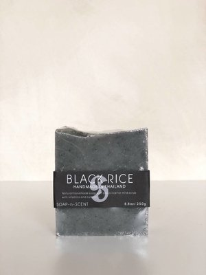 Soap block Black Rice 250 gr