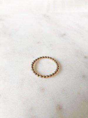 Ruby Ring | Goud