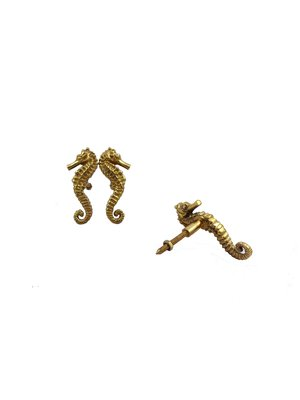 Doing Goods Pippa Seahorse Knob Set Of 2