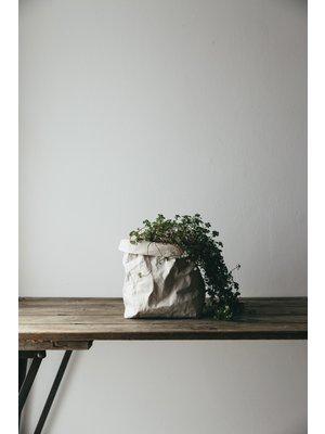 UASHMAMA® Sac à plantes gris