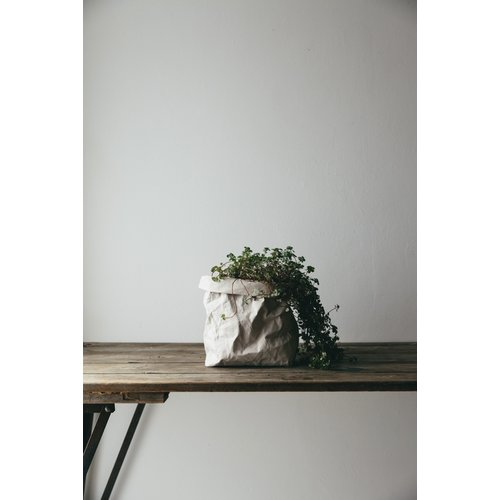 UASHMAMA® Paper Bag Grijs