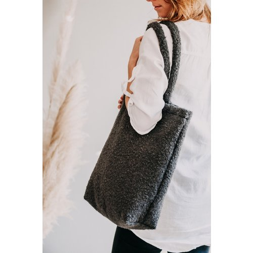 Moes & Griet Shopper Bobby Charcoal