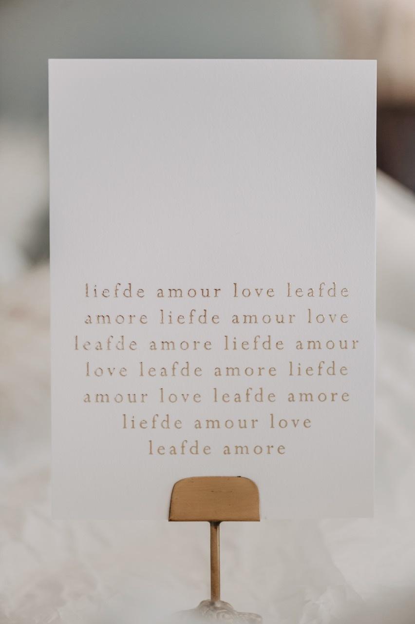 Moes Griet Love Amour Love A6