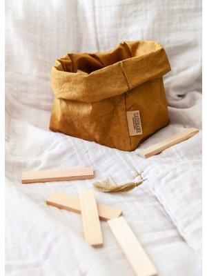 UASHMAMA® Paper Bag Oker