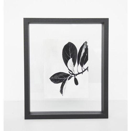 Urban Nature Culture Photo frame Floating Medium Black