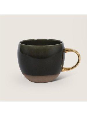 Urban Nature Culture Mug | Green & Gold
