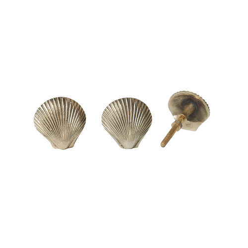 Doing Goods Abby Shell Knob Set Of 2