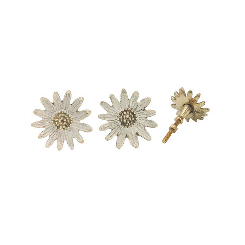 Doing Goods Dotty Daisy Knob Set of 2