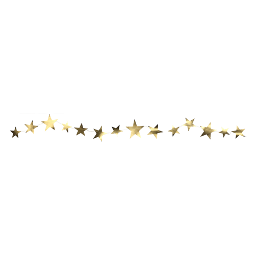 Delight Department  Star Shaped Garland | 3 Meter