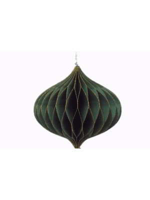 Only Naturel Honeycomb Oud groen |  7,5 cm