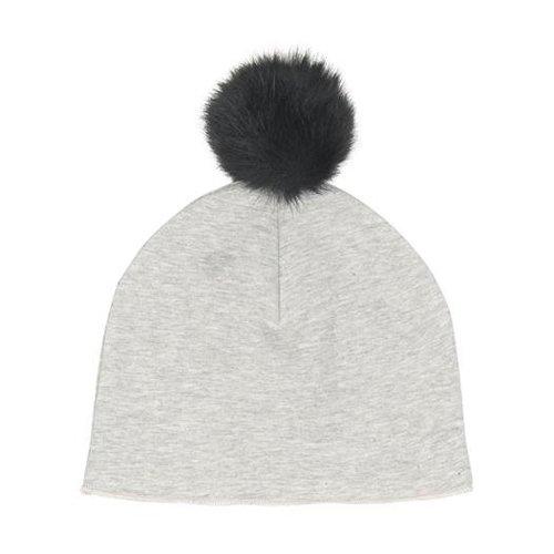 House Of Jamie | Muts Pom Pom Hat Stone 0-2 Y