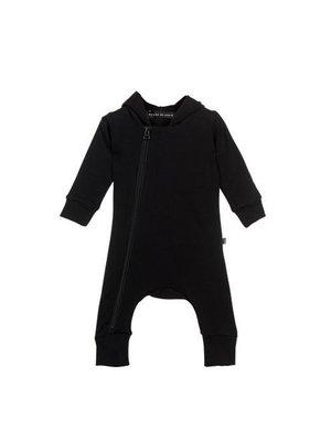 House Of Jamie | Hooded Zip Jumpsuit Black | Verschillende Maten