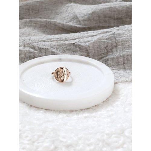 Onderzetter Marmer | Ø10,5 cm