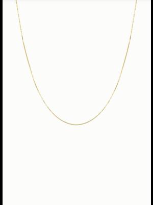 Box Necklace | Chain