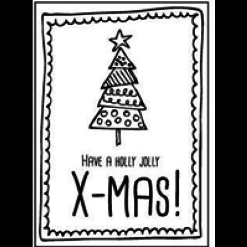 Set Of 9 Same Christmas Cards
