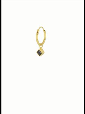 Square Eye Hoop | Oorbel Per Stuk