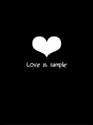 Love Is Simple card