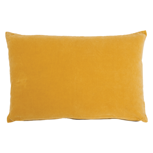 Urban Nature Culture Kussen Vintage Velvet Yolk Yellow