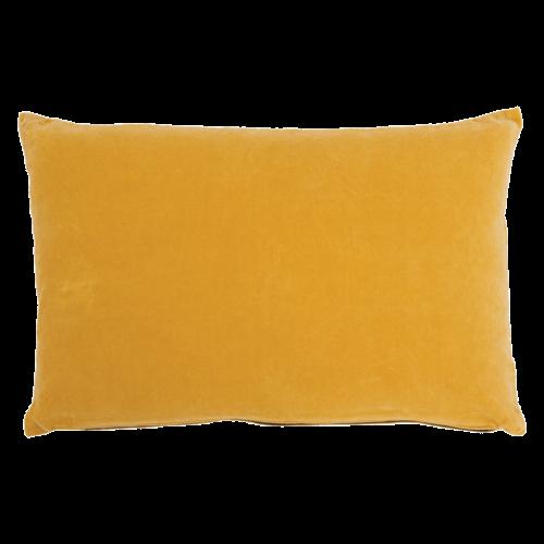 Urban Nature Culture Cushion Vintage Velvet Yolk Yellow