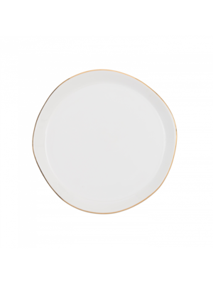 Urban Nature Culture Good Morning Plate | Morning White