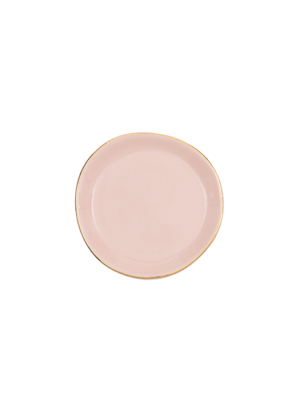 Urban Nature Culture Good Morning Plate Small | Old Pink