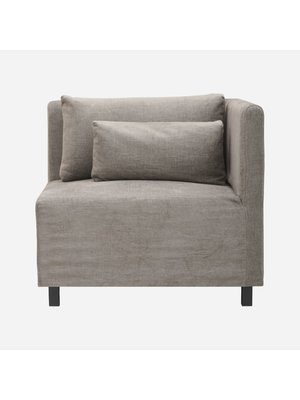 House Doctor Sofa Hazel Night, Gray / brown | Corner section