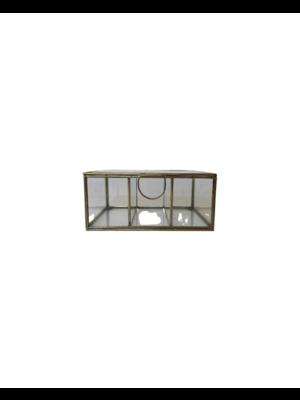 Gouden Box  14x10x16,5cm