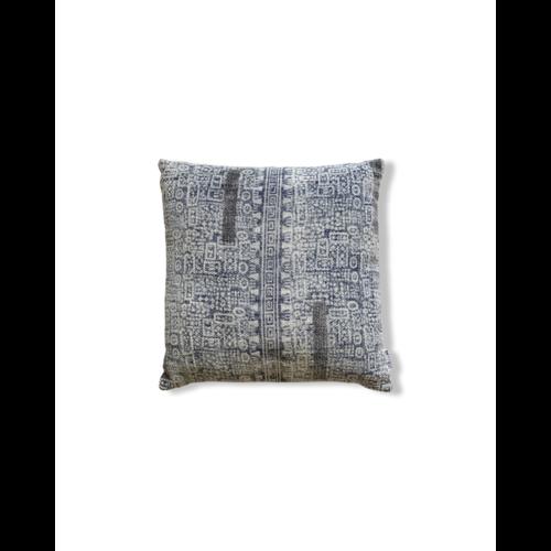 Urban Nature Culture Cushion Delhi Blue 45x45cm
