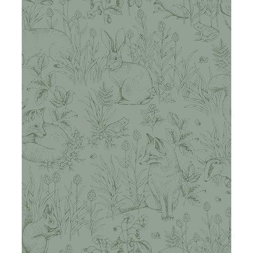 Wallpaper | Boras Tapeter Newbie Forest Friends 7477