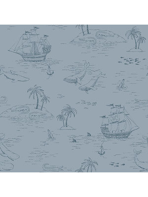 Wallpaper | Boras Tapeter Newbie Treasure Island 7451