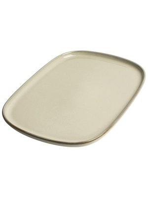 Serving plate Ivory