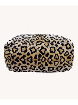 Doing Goods Leopards Pouf