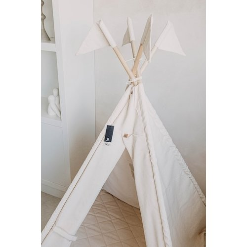 Tipi With Flags |  Off White