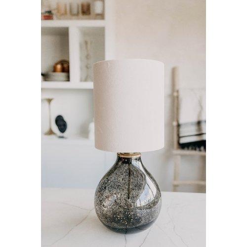 Madame Garage Lamp Black Glass Spickel