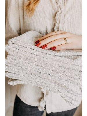Guest towel Stone Grey