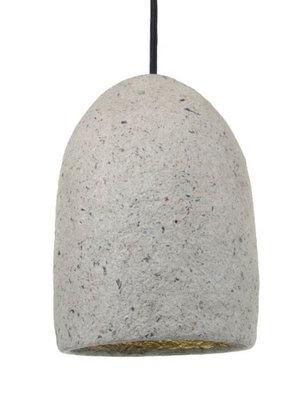 Kinta Hanging lamp Recycled | Gray | 15.5x23.5cm