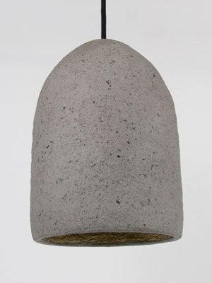 Kinta Hanging lamp Recycled   Gray   17x26cm