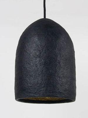 Kinta Hanglamp Recycled | Zwart | 17x26cm