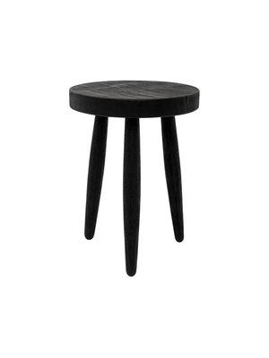 Urban Nature Culture Table d'appoint | table de chevet | Bois fumé