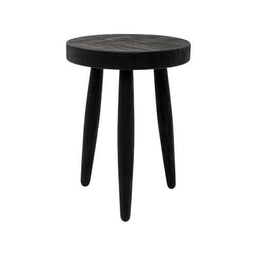 Urban Nature Culture Side table | bedside table | Smoked Wood