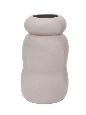 Urban Nature Culture Handmade Vase Pebbles | Gray Morn