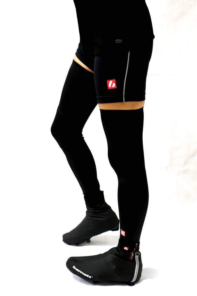 barnett BSP-05 чехлы для обуви, теплые и водоотталкивающие, черные
