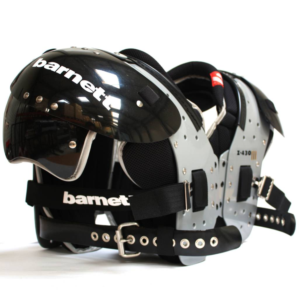 barnett Z-430 III Элитный каркас для американского футбола, очень лёгкий, FB-LB-TE-DE