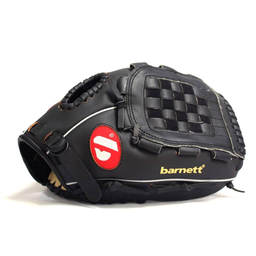 barnett BGBW-3 Бейсбольный комплект для детей и начинающих, 1 деревянная бита + 1 перчатка +1 мяч (BB-W 24, JL-95, BS-1)