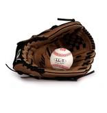 barnett GBSL-2 Бейсбольный комплект из натуральной кожи для взрослых, перчатка & мяч, (SL-120, LL-1)